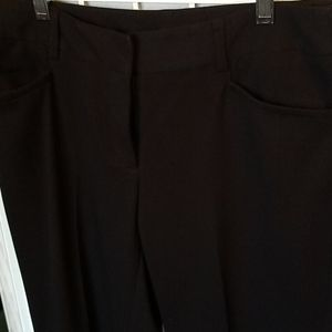 NWOT Rafaella Black Dress Pants
